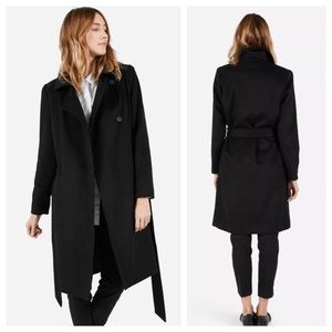 [Everlane] The Wool Trench in Black